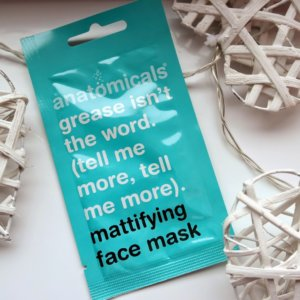 Anatomicals Mattifying Face Mask