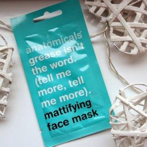 Anatomicals Mattifying Face Mask